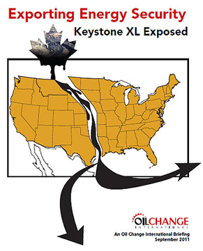exporting tar sands oil