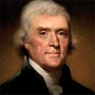 "Thomas Jefferson wrote of the remote tyranny of the British and later wrote of intergenerational responsibilities: ""the earth belongs to the living……..no man may by natural right oblige the land he owns or occupies to debts greater than those that may be paid during his own lifetime. If he could, then the world would belong to the dead, and not to the living"""