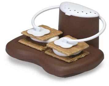 "Form follows function: ""Arms prevent marshmallows from over expanding and overcooking."" Image: Amazon"
