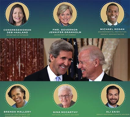 Biden environmental appointees