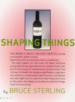 cover of Shaping Things by Bruce Sterling