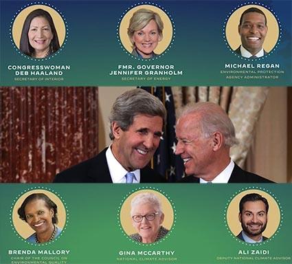 Biden environmental appointees